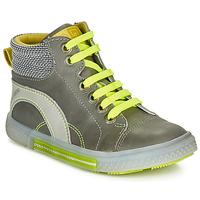 Schoenen Jongens Hoge sneakers Catimini PAPYRUS Grijs