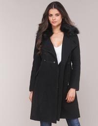 Textiel Dames Mantel jassen Moony Mood LITELA Zwart