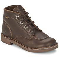 Schoenen Kinderen Laarzen Kickers KICK COL Brun-gaucho