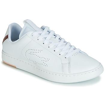 Schoenen Dames Lage sneakers Lacoste CARNABY EVO LIGHT-WT 119 3 Wit / Roze