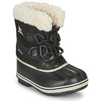 Schoenen Kinderen Snowboots Sorel CHILDRENS YOOT PAC NYLON Zwart