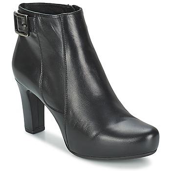 Schoenen Dames Low boots Unisa NAPUR Zwart