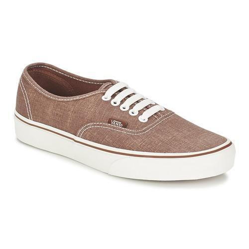 Schoenen Lage sneakers Vans AUTHENTIC Brown