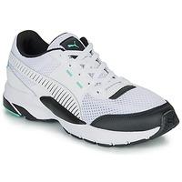 Schoenen Lage sneakers Puma FUTURE RUNNER PREMIUM Wit / Zwart