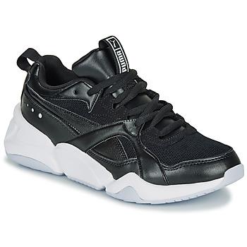 Schoenen Dames Lage sneakers Puma NOVA 2. W Zwart