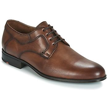 Schoenen Heren Derby Lloyd LADOR Cognac