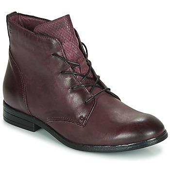 Schoenen Dames Laarzen Dream in Green LAMPEDI Bordeaux