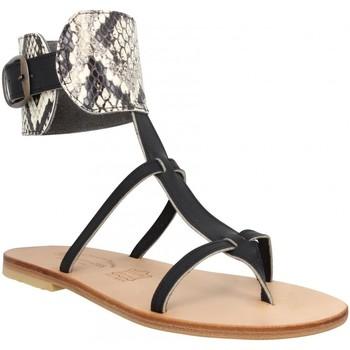 Schoenen Dames Sandalen / Open schoenen Spartiates Phoceennes 120251 Zwart