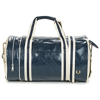 Tassen Heren Sporttas Fred Perry CLASSIC BARREL BAG Marine