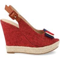 Schoenen Dames Espadrilles Ainy D8536 Rojo