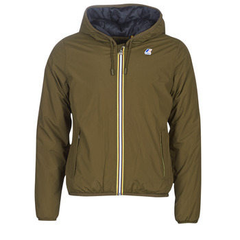 Textiel Heren Wind jackets K-Way JACQUES RIPSTOP MARMOT Kaki