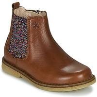 Schoenen Meisjes Laarzen Acebo's 5274-CUERO Brown