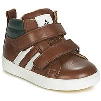 Schoenen Jongens Hoge sneakers Acebo's 3040-CUERO-C Brown