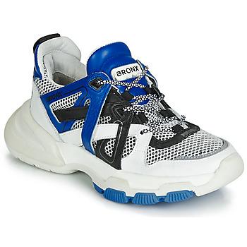 Schoenen Dames Lage sneakers Bronx SEVENTY STREET Wit / Zwart / Blauw