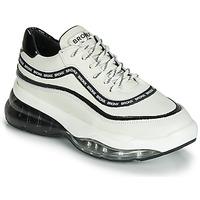 Schoenen Dames Lage sneakers Bronx BUBBLY Wit / Zwart