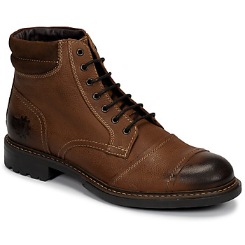 Schoenen Heren Laarzen Base London REPTON Cognac