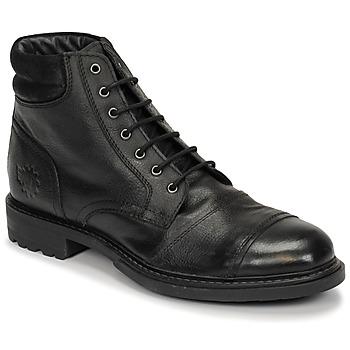 Schoenen Heren Laarzen Base London REPTON Zwart