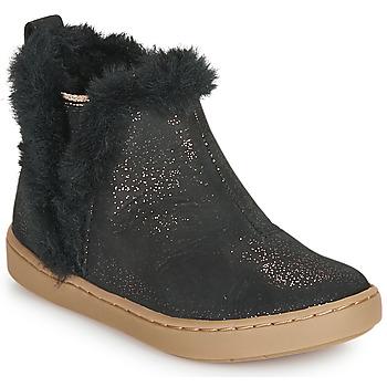 Schoenen Meisjes Laarzen Shoo Pom PLAY YETI Zwart