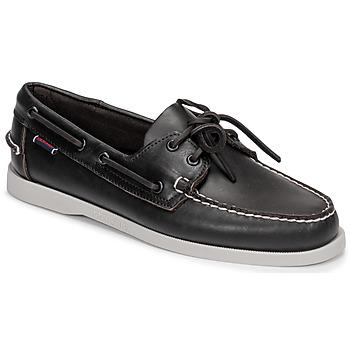 Schoenen Heren Bootschoenen Sebago DOCKSIDE PORTLAND Brown