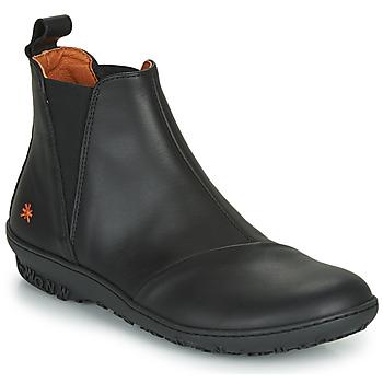 Schoenen Dames Laarzen Art ANTIBES Zwart