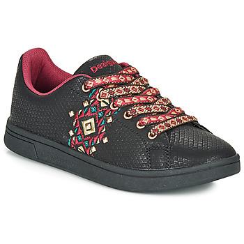 Schoenen Dames Lage sneakers Desigual COSMIC NAVAJO Zwart