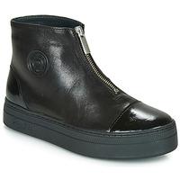 Schoenen Dames Laarzen Pataugas VALENTINA Zwart
