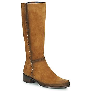 Schoenen Dames Hoge laarzen Dorking CRUSCA Brown