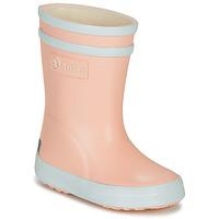 Schoenen Meisjes Regenlaarzen Aigle BABY FLAC Roze