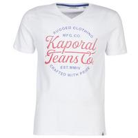 Textiel Heren T-shirts korte mouwen Kaporal OBUCE Wit