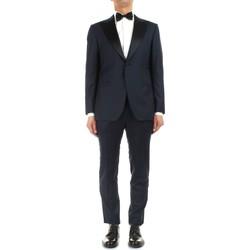 Textiel Heren Anzüge Kiton UASM861K07R1504001 Blue