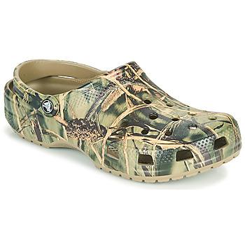 Schoenen Heren Klompen Crocs CLASSIC REALTREE Kaki
