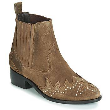 Schoenen Dames Laarzen Pepe jeans CHISWICK LESSY Brown
