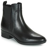 Schoenen Dames Laarzen Geox FELICITY Zwart