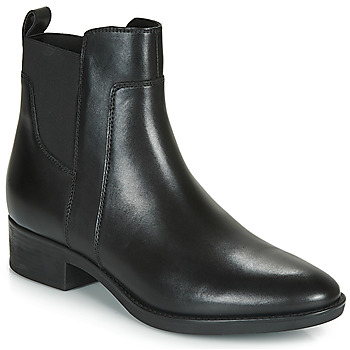 Schoenen Dames Laarzen Geox D FELICITY Zwart