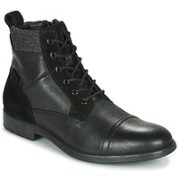 Schoenen Heren Laarzen Geox U JAYLON Zwart