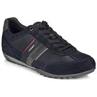 Schoenen Heren Lage sneakers Geox U WELLS Marine