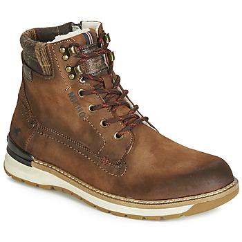 Schoenen Heren Laarzen Mustang 4141602 Brown