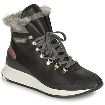 Schoenen Dames Lage sneakers Philippe Model MONTECARLO Zwart