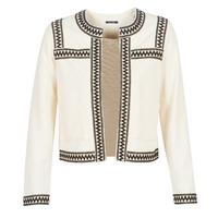 Textiel Dames Vesten / Cardigans One Step MINA Wit