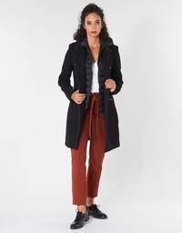 Textiel Dames Mantel jassen One Step DRISS Zwart