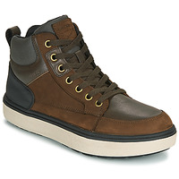 Schoenen Jongens Hoge sneakers Geox J MATTIAS B BOY ABX Cafe / Zwart