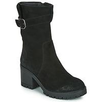 Schoenen Dames Hoge laarzen Les Petites Bombes BOUM Zwart