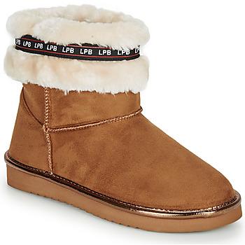 Schoenen Dames Laarzen Les Petites Bombes KITY  camel