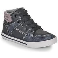 Schoenen Jongens Hoge sneakers Chicco CAMILLO Blauw / Grijs