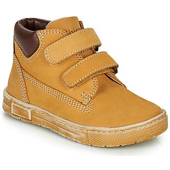 Schoenen Jongens Hoge sneakers Chicco CLAY Ocre