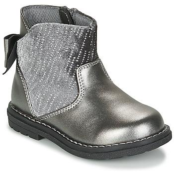 Schoenen Meisjes Laarzen Chicco CORRY Grijs