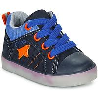 Schoenen Jongens Hoge sneakers Chicco GRADO Blauw