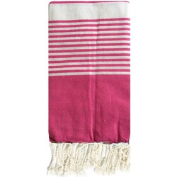 Textiel Dames Pareo Traditions Med fouta rose Roze