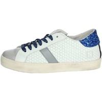Schoenen Jongens Lage sneakers Date HILL LOW  JR Platinum