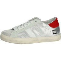 Schoenen Kinderen Lage sneakers Date HILL LOW  JR Silver